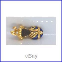Brooch Artigianale Pendenti Mori mori134 Yellow Gold Yellow Semiprecious stones