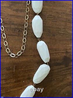 Elena Syraka Handmade Necklace With Gold plated Pendant And Semi Precious Stones