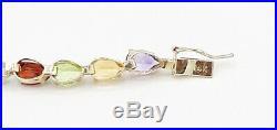 Estate 14kt Bracelets Yellow Gold 1CT Semi Precious Stone
