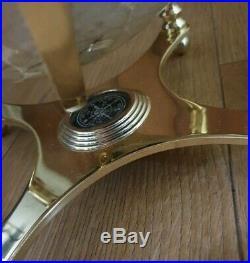 Gemstone Globe of the World. Semi precious stones compass. Can deliver