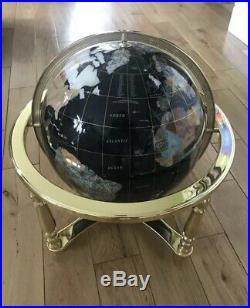Globe Of The World In Semi Precious Stone 250