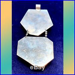 Jane Signorelli Sterling Semi Precious Stones Pendant Necklace One of a Kind