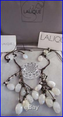 Lalique Semi Precious Stones DREAMCATCHER Clear Crystal Cactus ORIG Box NIB NICE