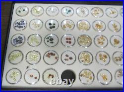 Lot of Precious / Semi-Precious Gemstones Stones w Cases About 280