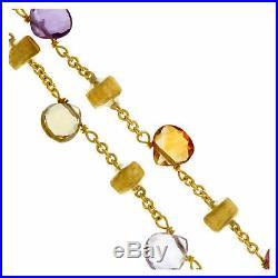 Marco Bicego semi precious stone bracelet in 18k