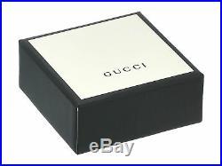 New Gucci Men's Sterling Silver Semiprecious Stone Necklace YBB57742900100U