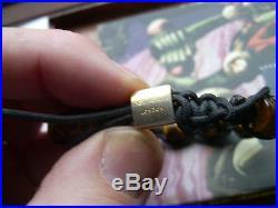 Northskull London bracelet skull tiger eye beaded SEMI PRECIOUS STONES-boxed