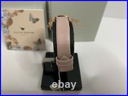 Olivia Burton Women's Semi Precious Pink Dial Leather Watch OB16MV84 NEW IN BOX