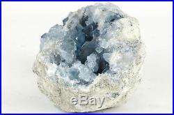 Pierre Semi Precieuse De Celestite Origine Madagascar 3,97kg Semi Precious Stone