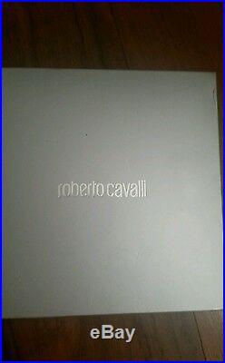 Roberto Cavalli Agate& Semi Precious Stones Chain Belt Ret $1500