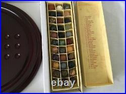 Solitaire Board Game with semi precious stones new with box