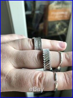 Sterling silver/925 jewellery Ring job lot some semi-precious